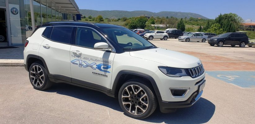 JEEP COMPASS PLUG IN AT6 4X4 LIMITED 1.3 190HP 2021
